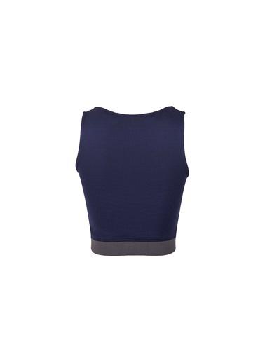 Slazenger Pro Fit Kadın Kısa Kol Tişört Lacivert